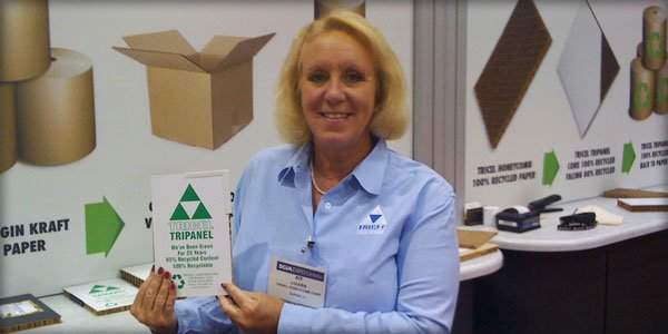 Kit Loudin at a Trade Show